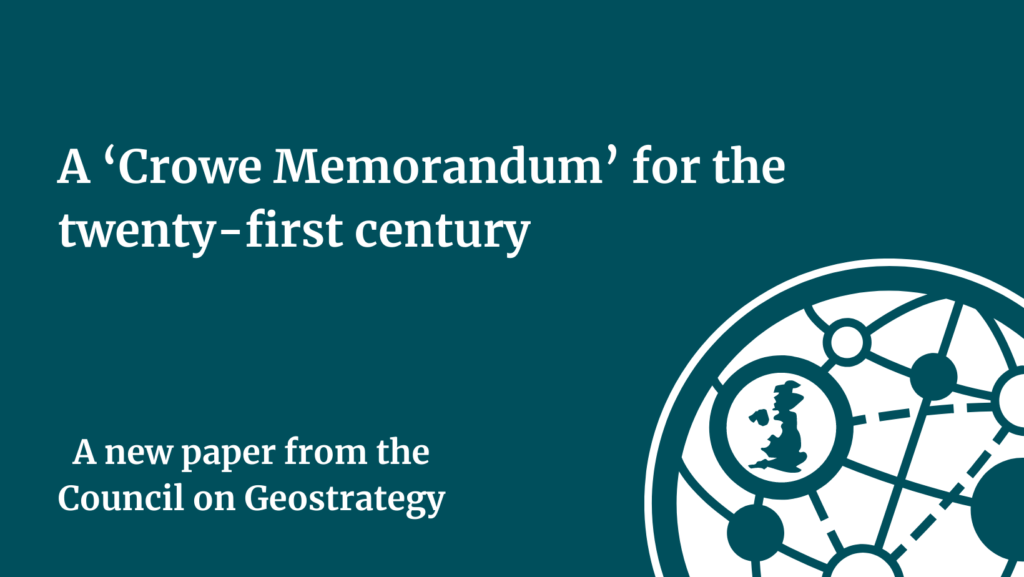 In this short video, Alexander Lanoszka and James Rogers introduce the Council on Geostrategy's first research paper.